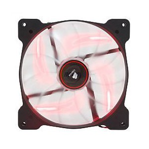 Corsair AF140 Quiet Edition High Airflow 120mm Fan with RED LED