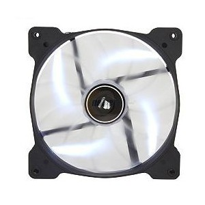 Corsair AF140 Quiet Edition High Airflow 120mm Fan with WHITE LED