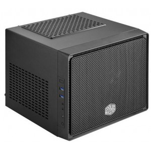 "CoolerMaster Elite 110 Black Mini ITX PC Chassis - 3x 3.5"" Bays"
