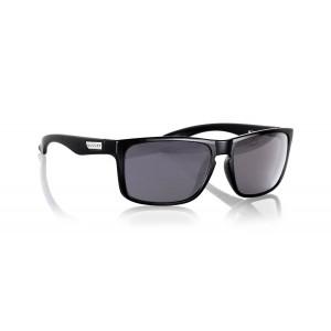 Gunnar Optiks INT-00107 Intercept Full Rim Advanced Outdoor Glasses with Grey Lens Tint, Onyx Frame Finish