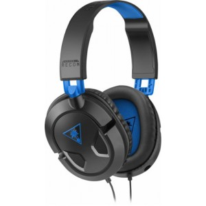 Turtle Beach TBS-3303-01 Ear Force Recon 50P Over-the-Ear Gaming Headset - Black/Blue