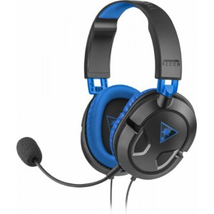 Turtle Beach TBS-3308-01 Ear Force Recon 60P Over-the-Ear Gaming Headset for PS4, Xbox One, PC and Mobile - Black/Blue