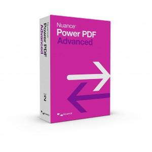 Nuance Power PDF 2 Advanced (Create, Convert, Edit) Software - Brown Box