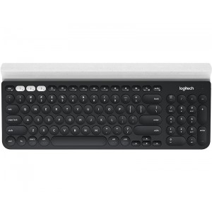 Logitech K780 Bluetooth QWERTY English Black,White Keyboard