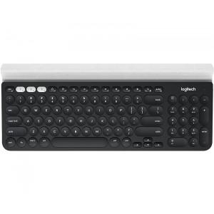 Logitech K780 Bluetooth QWERTY English Black,White Keyboard