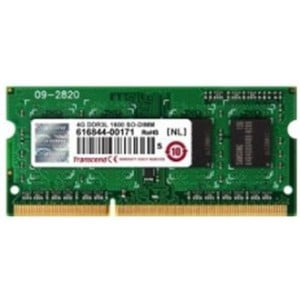 Transcend 4GB DDR3L-1600 Low Voltage 204-Pin Unbuffered SO-DIMM: 1.35V