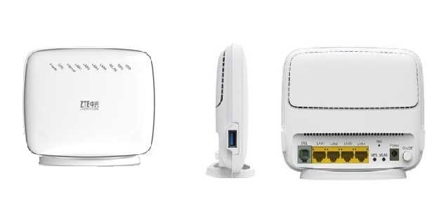 Wireless Routers - ZTE ZXHN-H108N Wireless ADSL2+ Router ...