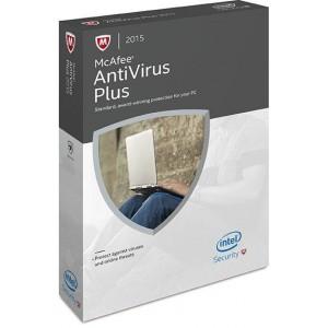 McAfee AntiVirus Plus DVD (2015) - 1 User