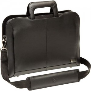 Dell 460-BBMZ Executive Leather Laptop Carrying Case - Black