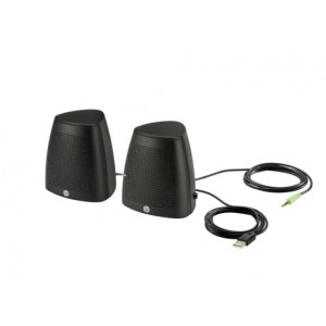 HP Black S3100 USB Speaker