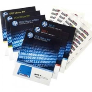 HPE LTO-6 Ultrium RW Bar Code Label Pack