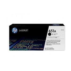 HP 651A Black LaserJet Toner Cartridge.