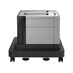 HP Color LaserJet 500-sheet Paper Feeder and Cabinet