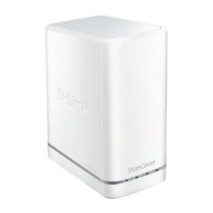 "D-Link ShareCentre 2 Bay Cloud Network Attached Storage Enclosure 3.5"" Bays"