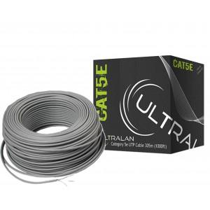 UltraLAN LAN Ethernet Cable - CAT5e Solid UTP (305m)