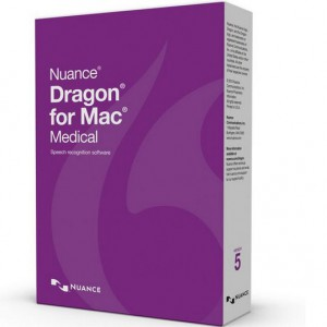 Nuance Dragon for Mac Medical 5.0, English