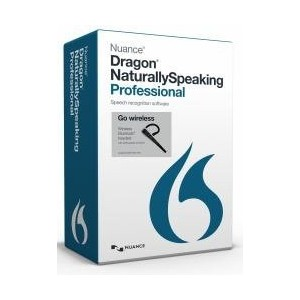 Nuance Dragon NaturallySpeaking Professional 13.0, Wireless