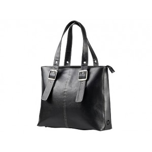 HP 15 LADIES BLACK TOTE