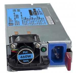 HP 460W HE Gold 12V Hotplg AC Pwr Supply Kit