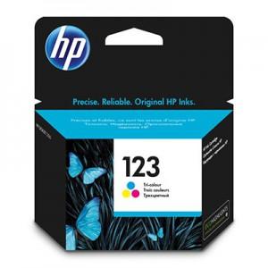 HP 123 TRI-COLOUR INK CARTRIDGE;DJ 2130 YLD 119