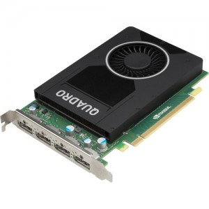 HP Workstation Accessory - NVIDIA Quadro M2000 4GB Graphics