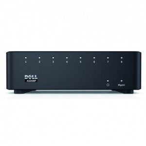 Dell 210-AEIR Networking X1008P Smart Web Managed Switch - 8 Ports