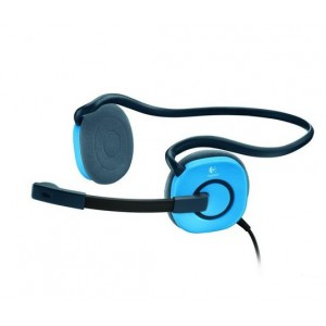 LOGITECH H130 BLUE ANALOG HEADSET H130