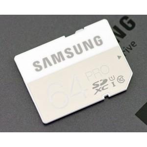 SAMSUNG PRO SDXC 64GB, CLASS 10