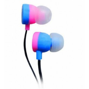 Astrum EARPHONE WIRE 3.5MM BLACK + PINK