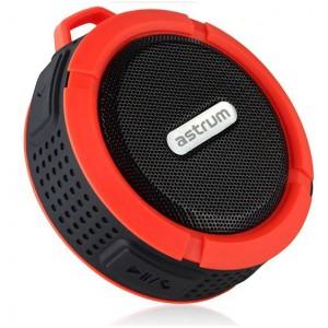 Astrum SPEAKER BT3.0 MIC FM TF AUX IP68 SHOWER RED