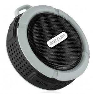 Astrum SPEAKER BT3.0 MIC FM TF AUX IP68 SHOWER GREY