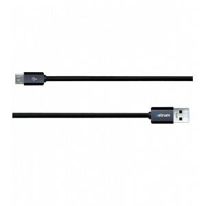 Astrum CHARGE/SYNC CABLE MICRO USB 5P BLACK