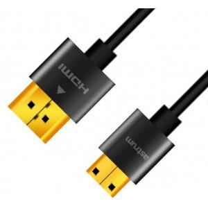 Astrum HDMI CABLE 1.0M M-M MINI V2.0 4X SLIM