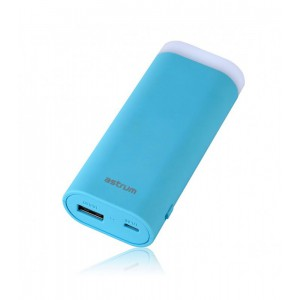 Astrum PB540 POWER BANK 5200MAH TORCH 1A BLUE