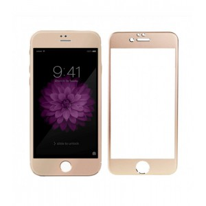 Astrum TEMPERED GLASS 9H 0.32MM GOLD FRAME IPHONE 6+