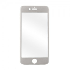 Astrum TEMPERED GLASS 9H 0.32MM SILVER FRAME IPHONE 6+