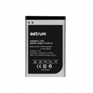 Astrum ANOBP3L NO LUMIA 710 BP-3L 1100MAH Battery