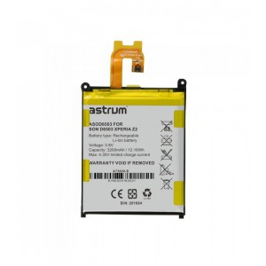 Astrum ASOD6503 SON D6503 XPERIA Z2 3200MAH Battery
