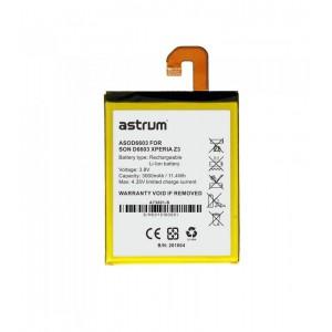 Astrum ASOD6603 SON D6603 XPERIA Z3 3000MAH Battery