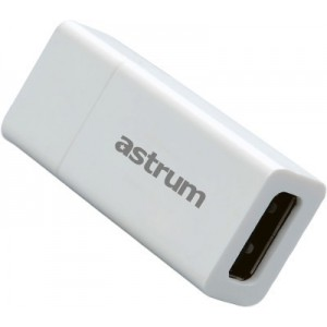 Astrum USB POWER BOOSTER 0.5A-2.0A WHITE