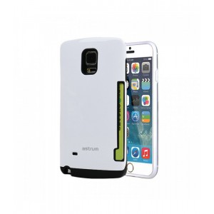 Astrum MOBILE BUMPER CASE CARD SLOT CARD PRO WHITE