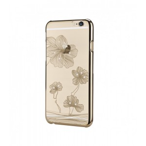 Astrum MOBILE BUMPER CASE DIMOND FLOWER GOLD