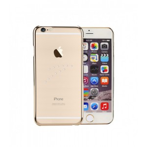 Astrum MOBILE BUMPER CASE DIMOND WAVE GOLD