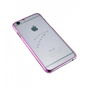 Astrum MOBILE BUMPER CASE DIMOND WAVE PINK