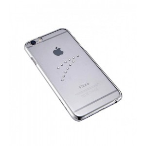 Astrum MOBILE BUMPER CASE DIMOND WAVE SILVER