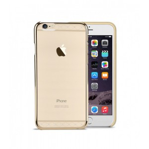 Astrum MOBILE BUMPER CASE DIMOND STRIP EP GOLD