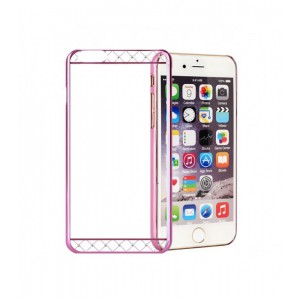 Astrum MOBILE BUMPER CASE DIMOND STRIP EP PINK