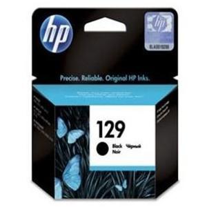 HP 129 Black Inkjet Cartridge 11ml, upto 400 pgs @ 5%