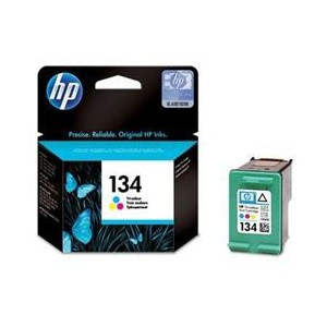 HP 134 Tri-colour Inkjet Cartridge 14ml, 560 pages @ 5%