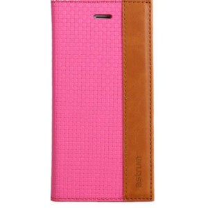 Astrum MOBILE CASE DAIRY FLIP COVER LEATHER PINK